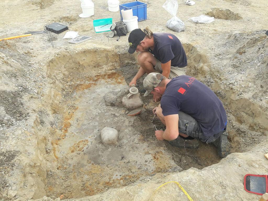 Opgraving uit de Romeinse tijd gevonden