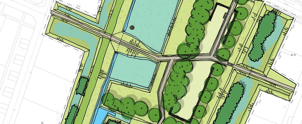 Park ter Roomley plankaart - gebied | Den Bogerd